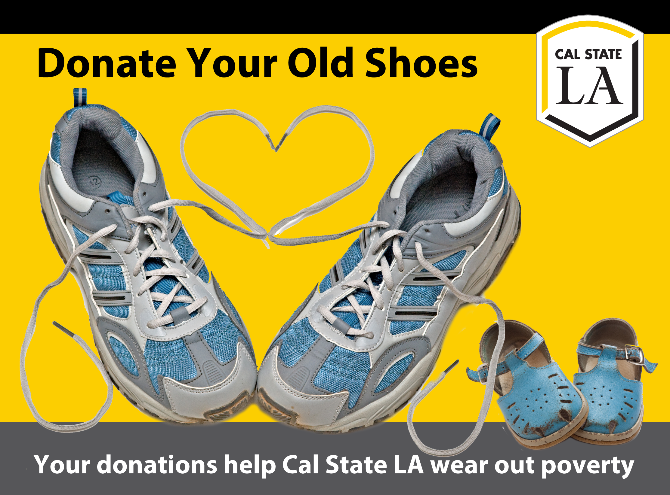 donate your old shoes