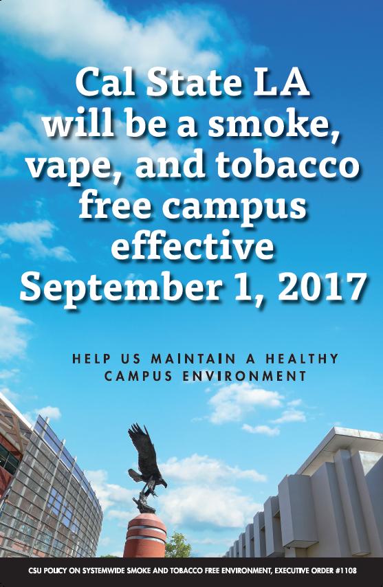 Smoke-Free Campus Poster
