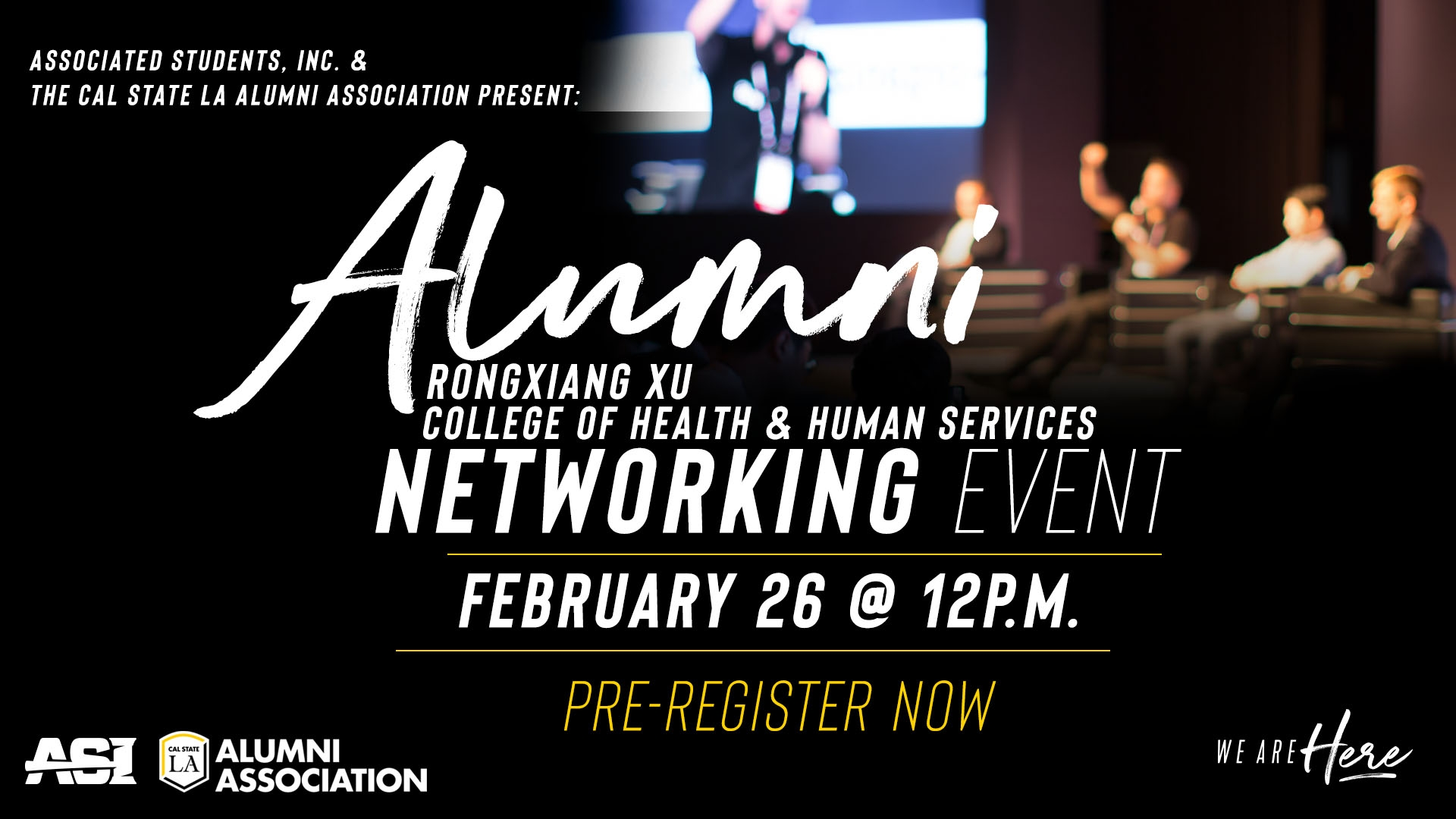 Rongxiang Xu College of Health and Human Services Alumni Networking Event