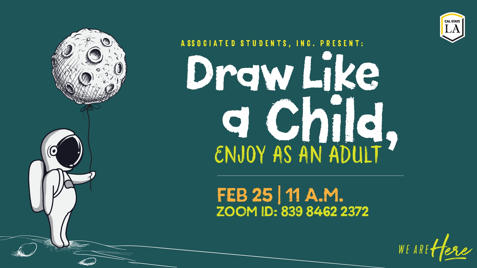Draw Like a Child, Enjoy as an Adult