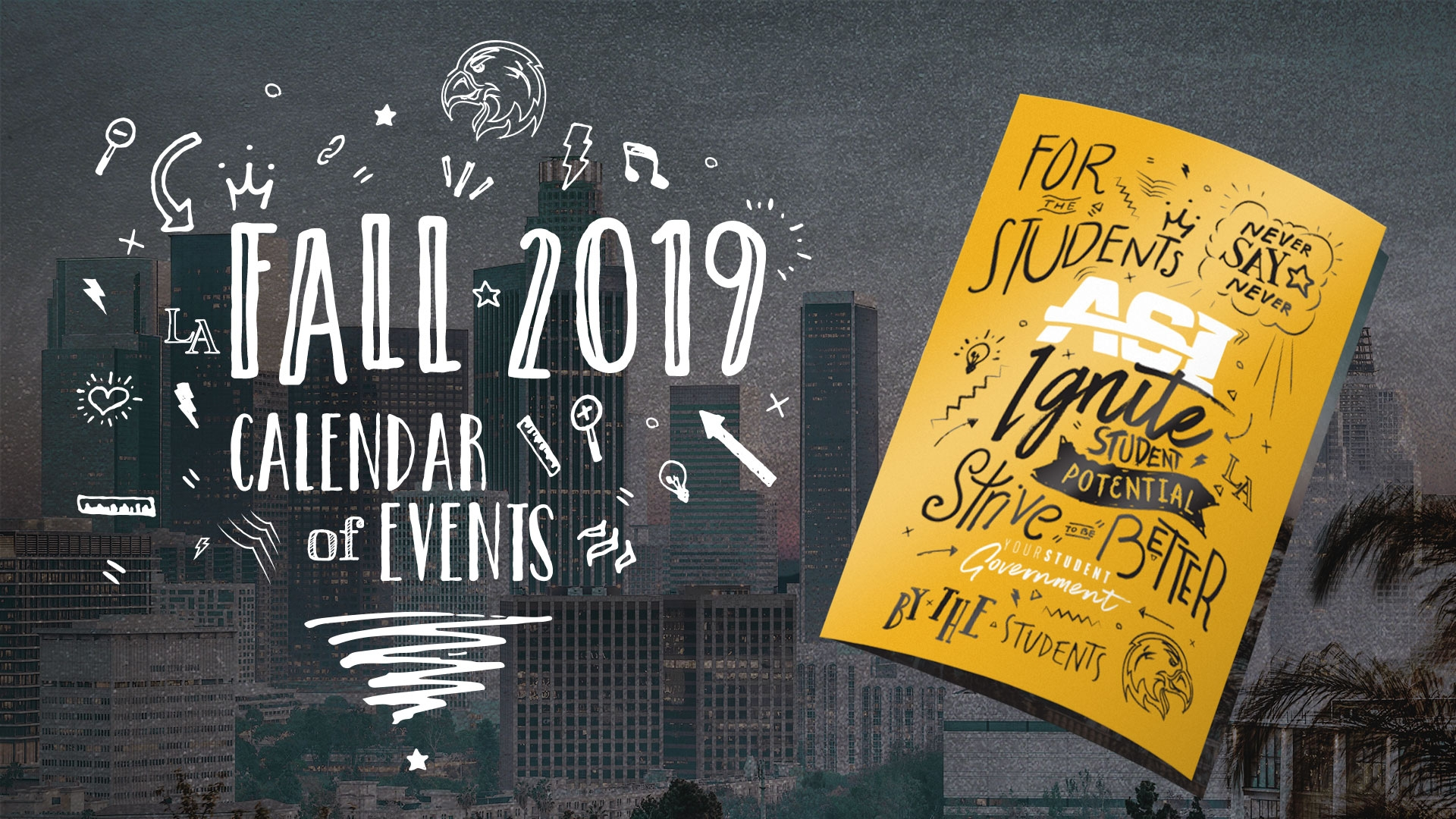 Fall 2019 Calendar of Events