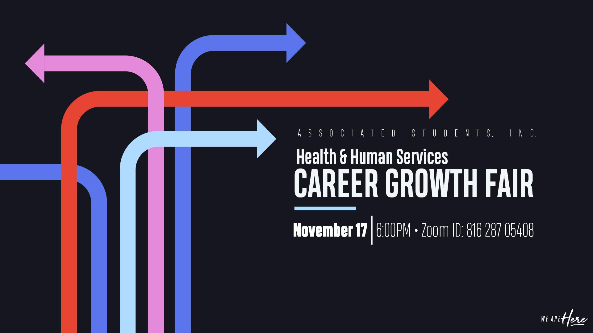 Rongxiang Xu Health and Human Services: Career Growth Fair
