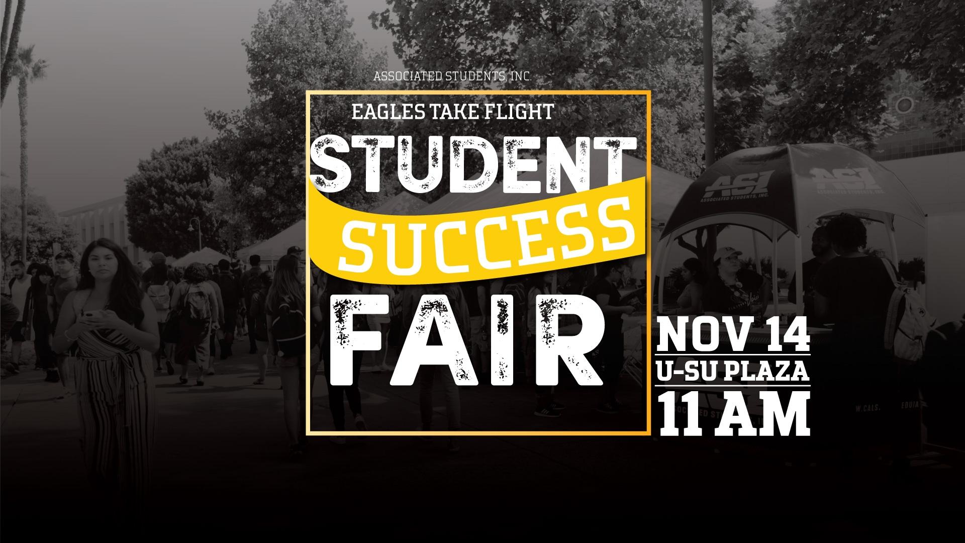 Eagles Take Flight: Student success Fair