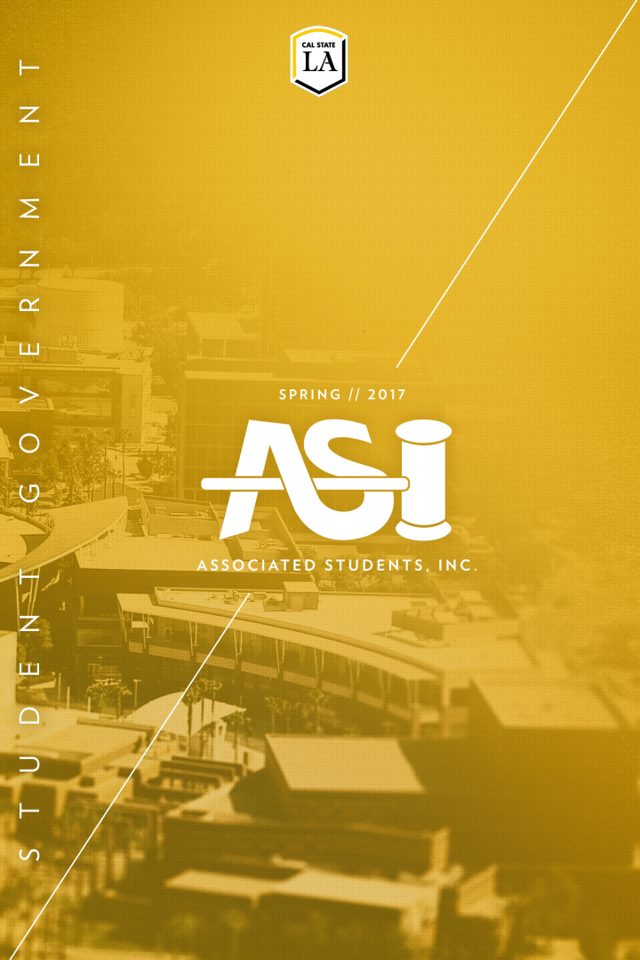 ASI Spring 2017 Calendar of Events