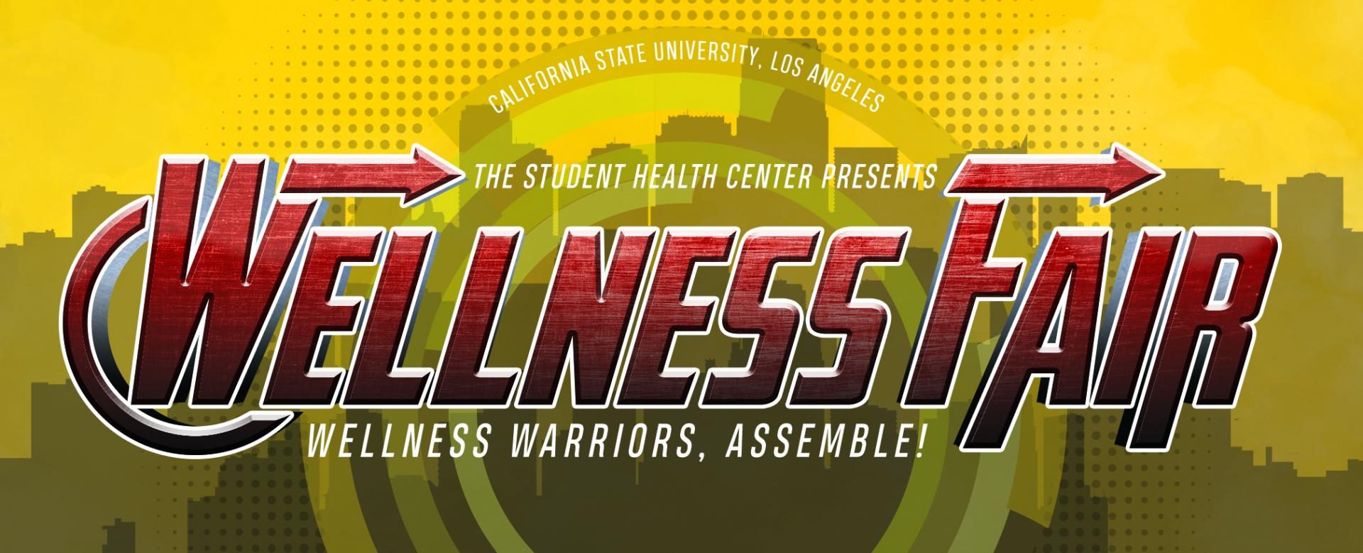 Annual Health and Wellness Fair   Associated Students Inc