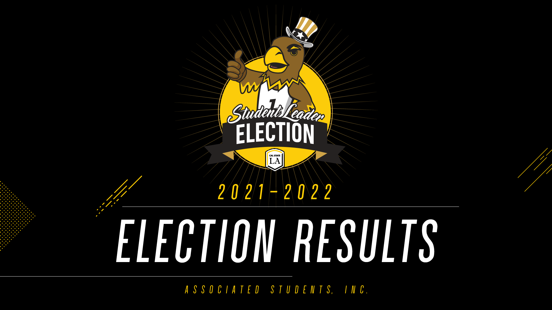 2021 Election Results Announcement
