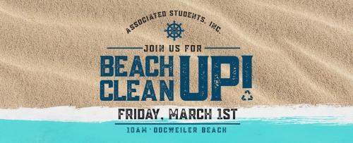 Beach Clean Up Day!