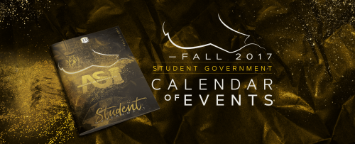 Fall 2017 Calendar of Events