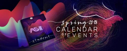 Spring 2018 Calendar of Events