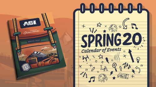 Spring 2020 Calendar of Events